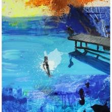 Blue Lake 2_110 x 140 cm