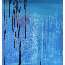 Blue Lake 3_140 x 50 cm
