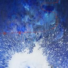 Droga do skarbu II, 11o x 90 cm, olej na płótnie - Copy